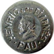 5 Centimes - HENRIC LOU BIARNES - Pau – obverse