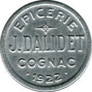 10 Centimes Epicerie J.Dalidet Cognac [16] – obverse