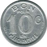 10 Centimes Epicerie J.Dalidet Cognac [16] – reverse
