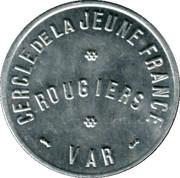 10 Centimes - Cercle de la Jeune France - Rougiers [83] – obverse