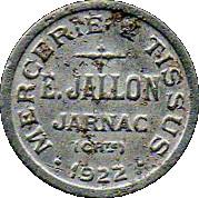 5 Centimes - Jartnac 16 – obverse