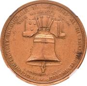Dollar - U.S. Centennial Exposition (Liberty Bell; Independance Hall) – obverse