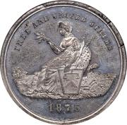 Dollar - U.S. Centennial Exposition (Liberty Seated) – obverse