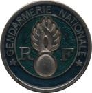 Shopping Cart Token - Gendarmerie Nationale – reverse