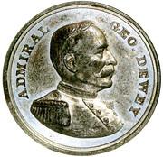 Dollar - Battle of Manila Bay (Admiral George Dewey) – obverse