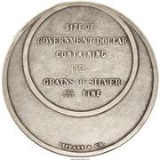 Dollar - Bryan (Tiffany & Co.) – reverse