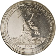 Dollar - US Centennial Exposition (Official Medal) – obverse