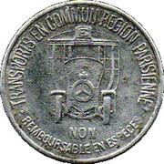 35 Centimes Région Parisienne 75 – obverse
