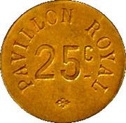25 Centimes  - Pilon Royal - Paris [75] – reverse