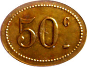 50 Centimes - A l'Espérance : A. Chottin - Champigny-sur-Marne [94] – reverse