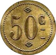 50 Centimes - Café de la Badouillere Festy - Saint Etienne [42] – reverse