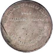 Dollar - Treasuare Island (Piece of Eight) – reverse