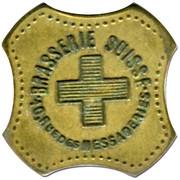 1,5 Franc Brasserie Suisse - Paris [75] – obverse