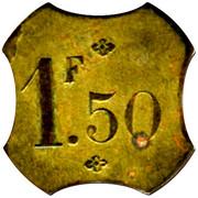 1,5 Franc Brasserie Suisse - Paris [75] – reverse
