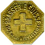 2 Francs Brasserie Suisse - Paris [75] – obverse