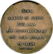 Dollar - Bryan (Tiffany & Co.) – obverse