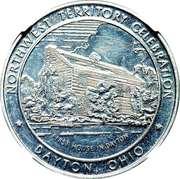 Dollar - Northwest Territory Celebration (Dayton, OH) – obverse