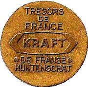Token - Kraft (Tresors de France) – reverse