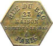 Token - Maison du Petit Saint Thomas (Paris ) – reverse