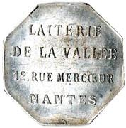 Token - La goutte de Lait (Nantes) – reverse