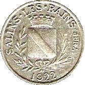 5 Centimes - F.C.I.M 260e Section Salins les Bains [39] – obverse