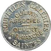 5 Centimes - Nouvelles galeries (Saintes) – obverse