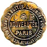 Token - Bon pour une Prime - Grands Magasins Aux Buttes Chaumont (Paris) – obverse