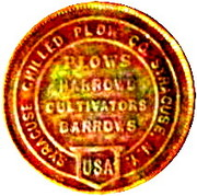 Token - Syracuse Chilled Plow Company – reverse