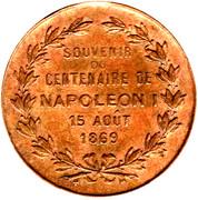 Token - Napoleon I – reverse
