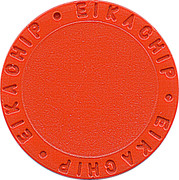 Shopping Cart Token - Eikachip (Orange) – obverse