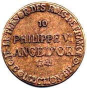 Token Collection BP - Le Trésor des Rois de France (№10 - Philippe VI) – reverse