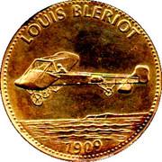 Shell Token - Man In Flight (Louis Bleriot) – obverse