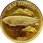 Shell Token - Man In Flight (Graf Zeppelin) – obverse