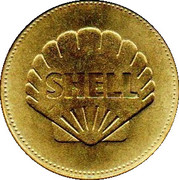 Shell Token - Man In Flight (De Havilland Comet) – reverse