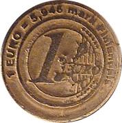 1 Euro - Le Petrin Ribeirou (Finnish Markka) – reverse