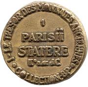 Token Collection BP - Le Trésor des Monnaies Anciennes (№1) – reverse