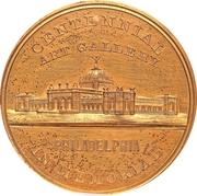 Dollar - U.S. Centennial Exposition (Art Gallery Building) – obverse