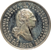 Dollar - George Hampden Lovett (Battle of Moore's Creek Bridge) – obverse