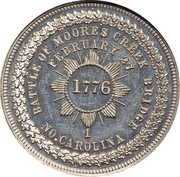Dollar - George Hampden Lovett (Battle of Moore's Creek Bridge) – reverse