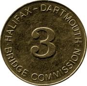 Token - Halifax Dartmouth Bridge Commission (3) – obverse