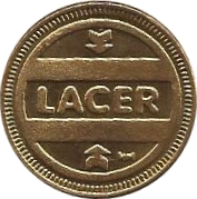 Pool Token - Lacer – obverse