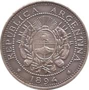 2 Centavos (Souvenir) – obverse