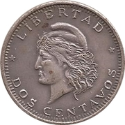 2 Centavos (Souvenir) – reverse