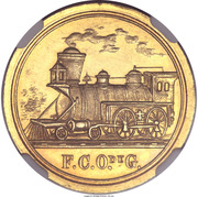 Token - San Felipe Railroad – obverse