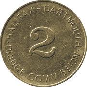 Token - Halifax Dartmouth Bridge Commission (2) – obverse