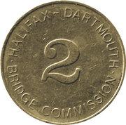 Token - Halifax Dartmouth Bridge Commission (2) – reverse