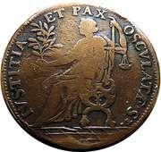 Token - Louis XIV – reverse