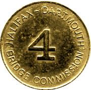 Token - Halifax Dartmouth Bridge Commission (4) – obverse