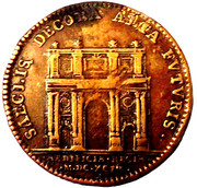 Louis XIV - Batiments Royaux – reverse