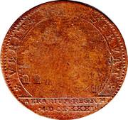 Louis XIV Token 1681 – reverse
